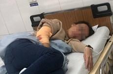 Truy tìm nhóm người bịt mặt chém chủ quán càphê phải nhập viện