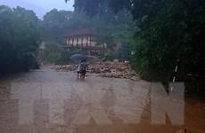 Cứu được 5 người bị lũ quét cuốn trôi ở Quan Sơn của Thanh Hóa