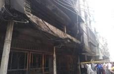 Ấn Độ: Cháy khu nhà tại New Delhi làm 16 người thương vong