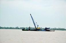 An Giang: Nóng tình trạng khai thác cát trái phép ở khu vực biên giới