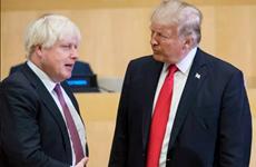 """Tổng thống Mỹ Trump cảm ơn Anh vì """"quan hệ đối tác kiên định"""""""