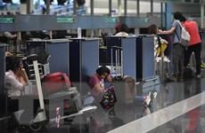 Sân bay quốc tế Hong Kong mở cửa trở lại sau biểu tình ngồi