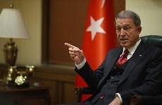 """Thổ Nhĩ Kỳ """"nắn gân"""" Mỹ về việc thỏa thuận vấn đề Syria"""