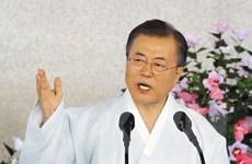 Hàn Quốc cam kết xây dựng kinh tế hòa bình với Triều Tiên