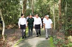Phó Thủ tướng Trương Hòa Bình thăm vùng chiến khu cách mạng Tây Ninh