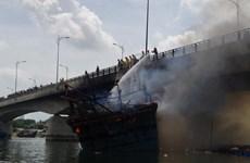 Quảng Ngãi: Tạm dừng mọi phương tiện giao thông qua cầu Trà Bồng