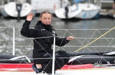 Thiếu nữ 16 tuổi dùng thuyền vượt Đại Tây Dương vì môi trường