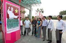 Triển lãm tranh cổ động tuyên truyền 50 năm thực hiện Di chúc Bác Hồ