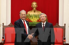 Đoàn đại biểu Đảng Lao động Mexico thăm và làm việc tại Việt Nam