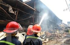 Kết quả xét nghiệm của 10 cảnh sát cứu hỏa chữa cháy Công ty Rạng đông
