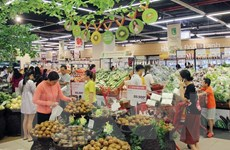 Lượng khách đến kênh bán lẻ hiện đại tăng 40% trong ngày lễ Quốc khánh