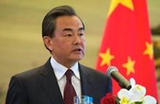Bộ trưởng Ngoại giao Trung Quốc Vương Nghị thăm Triều Tiên
