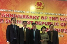 Các địa phương của Campuchia chúc mừng 74 năm Quốc khánh Việt Nam
