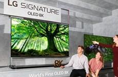 LG sắp phát hành mẫu tivi OLED 8K trên thị trường toàn cầu
