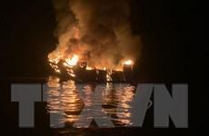 Mỹ: Nhiều người thiệt mạng trong vụ cháy tàu lặn ngoài khơi California