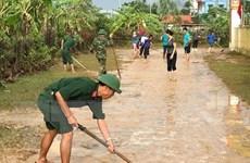 Quảng Bình: Nước lũ rút dần, các địa phương gấp rút khắc phục hậu quả