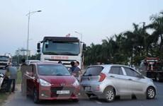 Bắc Ninh: 5 ôtô đâm nhau liên hoàn, nhiều người hoảng loạn