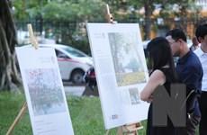 Tình yêu của người dân Thủ đô qua Triển lãm 'Vì một Hà Nội đáng sống'