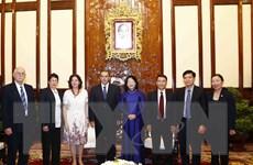 Phó Chủ tịch nước tiếp Đoàn Thông tấn xã Mỹ Latinh Prensa Latina