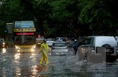 Hà Nội: Nước rút hết tại khu vực ngập, giao thông đi lại bình thường