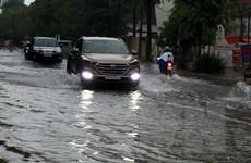 Cảnh báo mưa lớn, lũ, dông, lốc, sét và gió giật mạnh ở Bắc Bộ