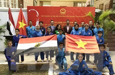 """Việt Nam và Ai Cập hướng tới gắn kết """"từ con tim tới khối óc"""""""