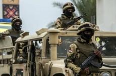 Lực lượng dặc nhiệm Ai Cập và Mỹ diễn tập chống khủng bố