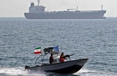 Iran bắt giữ tàu ở vùng Vịnh do nghi buôn lậu dầu tới UAE