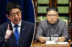 Thủ tướng Nhật muốn đối thoại vô điều kiện với nhà lãnh đạo Triều Tiên
