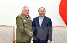 Thủ tướng Nguyễn Xuân Phúc tiếp Tổng Tham mưu trưởng Cuba