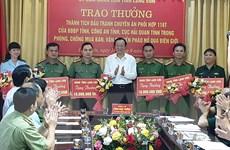 Lạng Sơn liên tiếp phá đường dây buôn bán pháo nổ, ma túy quy mô lớn