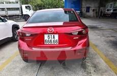 Cảnh sát Giao thông Bình Dương thông tin về cấp biển số xe 61A 666.66