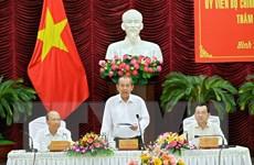 Phó Thủ tướng Trương Hòa Bình thăm và làm việc tại tỉnh Bình Thuận