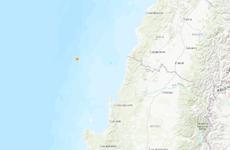 Động đất mạnh 5,4 độ ở miền Trung Chile, không có cảnh báo sóng thần