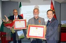 Phó Chủ tịch Quốc hội Phùng Quốc Hiển thăm làm việc tại Italy