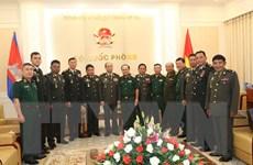 Tăng cường hợp tác quốc phòng giữa Việt Nam-Campuchia