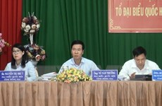 Ông Võ Văn Thưởng: Xử lý nghiêm những cán bộ, đảng viên vi phạm