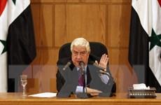 Ngoại trưởng Muallem bác tin quân đội Iran hiện diện ở Syria