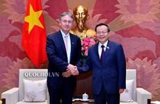 Phó Chủ tịch Quốc hội tiếp Chủ tịch Hội đồng Kinh doanh EU-ASEAN
