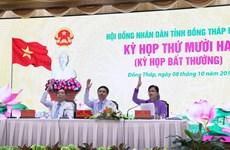HĐND tỉnh Đồng Tháp thông qua 15 nghị quyết quan trọng