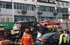 Nổ khí gas tại miền Đông Trung Quốc, 15 người thương vong