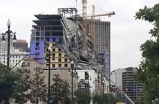 Mỹ: Sập công trình khách sạn tại New Orleans gây nhiều thương vong