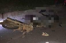 Xe máy đâm nhau kinh hoàng trên đường Hồ Chí Minh, 4 người chết