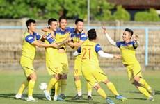 Các cầu thủ đội tuyển Việt Nam tự tin trước trận đấu với Indonesia
