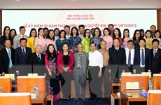Chủ tịch Quốc hội dự kỷ niệm 10 năm nâng cấp Báo Đại biểu Nhân dân