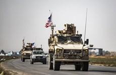 Quân đội Mỹ rầm rộ rút quân khỏi Syria sang lãnh thổ Iraq