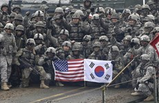 Mỹ-Hàn Quốc tiến hành vòng đàm phán mới về chia sẻ chi phí quốc phòng