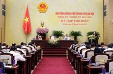 Khai mạc Kỳ họp thứ 10, Hội đồng nhân dân thành phố Hà Nội khóa XV