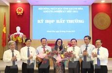 Ông Lê Hữu Hoàng được bầu giữ chức vụ Phó Chủ tịch tỉnh Khánh Hòa