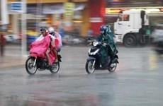 Biển Đông có gió giật cấp 9, không khí lạnh gây mưa to ở Trung Bộ